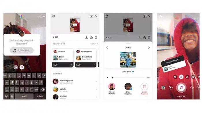 Fitur Baru Instagram, Begini Cara Menggunakan Rekomendasi Musik dan Fitur Q & A saat Live