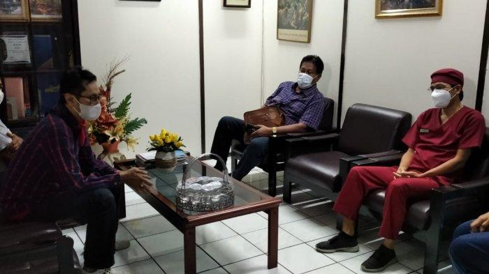 Pansus Covid-19 DPRD Kota Yogyakarta Sidak 2 Rumah Sakit, Temukan Semua Bed Telah Terisi Penuh