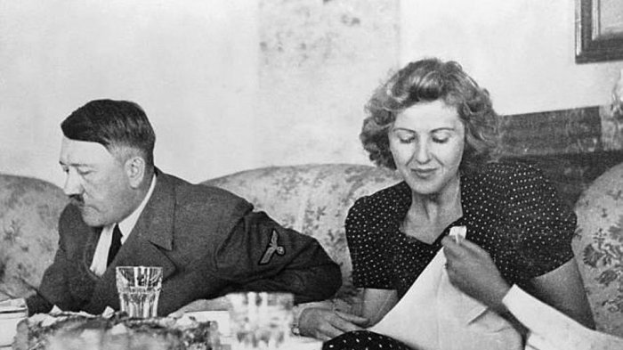 KISAH HARI-HARI AKHIR ADOLF HITLER : Sang Fuhrer Tembak Kepalanya, Eva Braun Telan Kapsul Racun
