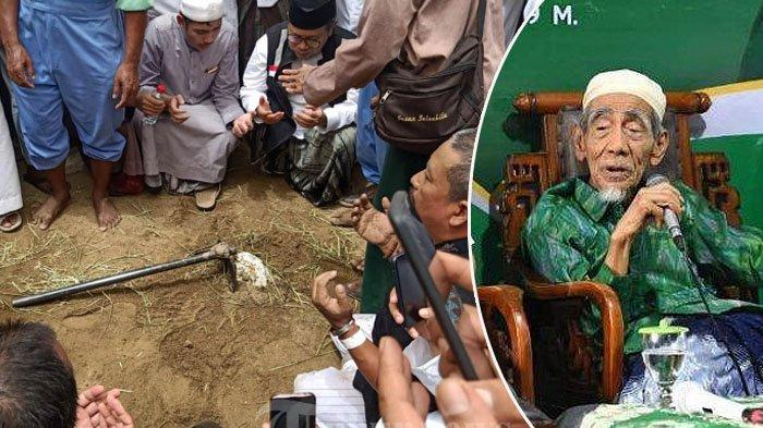 Inilah Makam Mbah Moen di Pemakaman Tertua Ma'la Makkah, Kesaksian Ingin Meninggal di Hari Selasa