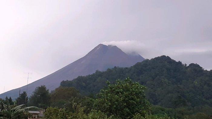 Update Gunung Merapi Pagi Ini Jumat 16 April 2021 : Guguran Lava Pijar Meluncur Sebanyak 11 Kali