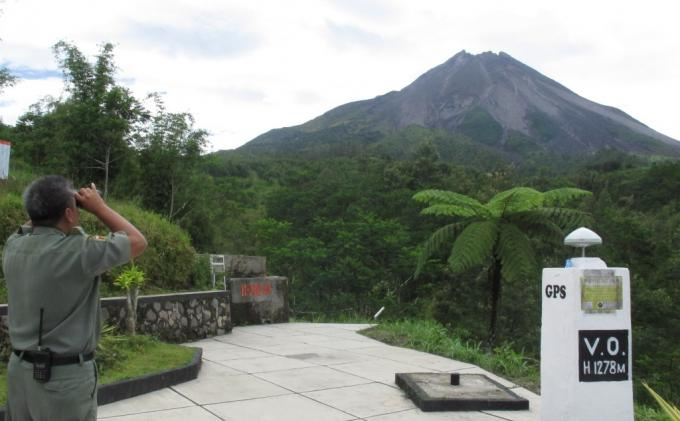 Sejarah Gunung Merapi : Berawal dari Gunung Bibi yang Terus Tumbuh Hingga Sekarang
