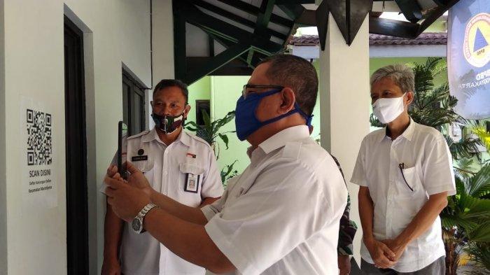 Permudah Tracing Covid-19, Kantor Kecamatan Mantrijeron Wajibkan Pengunjung Isi Daftar Hadir Online