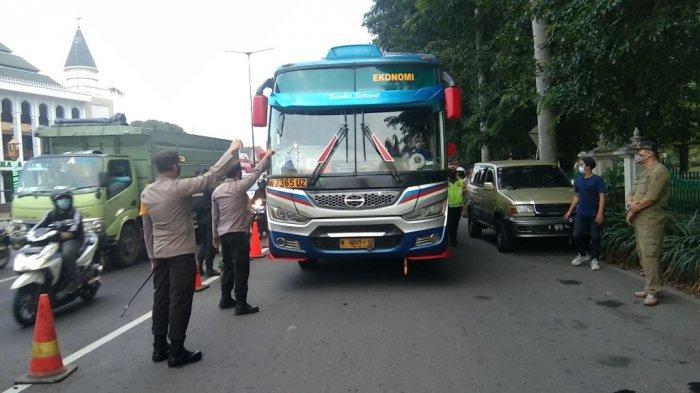 Gagal Kelabui Petugas di Klaten, Kondektur Bus AKAP Ini Diminta Putar Balik ke Yogyakarta