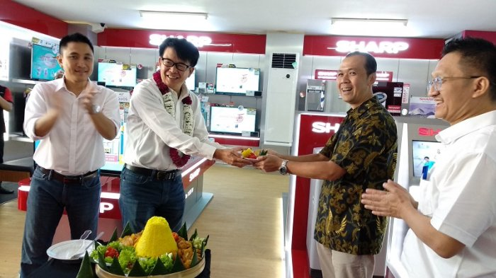 Gandeng UFO Elektronik, Sharp Tomodachi Store Hadir di Yogya
