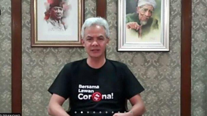 Gerakan 'Jateng di Rumah Saja' di Akhir Pekan Ini, Berikut Instruksi Gubernur Ganjar Pranowo
