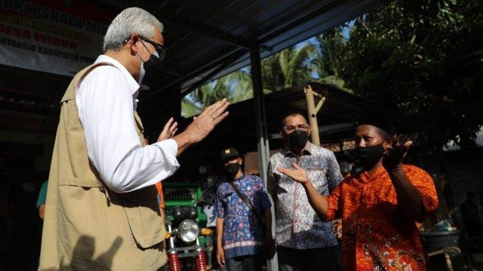 Ganjar Minta Seluruh Bupati dan Wali Kota di Wilayahnya Laksanakan PPKM Mikro Darurat Secara Ketat