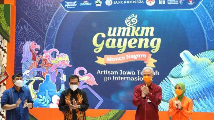 Ganjar Pranowo Tegaskan Produk UMKM Jawa Tengah Siap Masuk Pasar Internasional