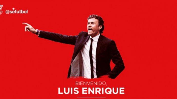 BREAKING NEWS : Gantikan Fernando Hierro, Luiz Enrique Resmi Tangani Timnas Spanyol