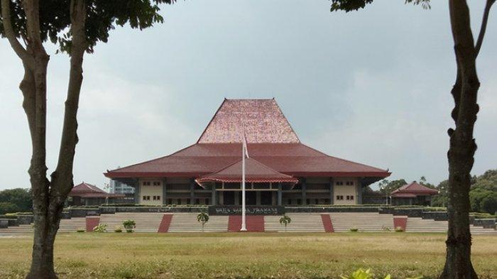 Gedung Grha Sabha Pramana di Kampus Universitas Gadjah Mada (UGM) Yogyakarta