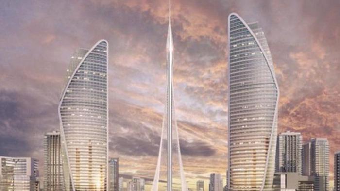 Gedung Tertinggi Di Dunia Mulai Dibangun Tribun Jogja