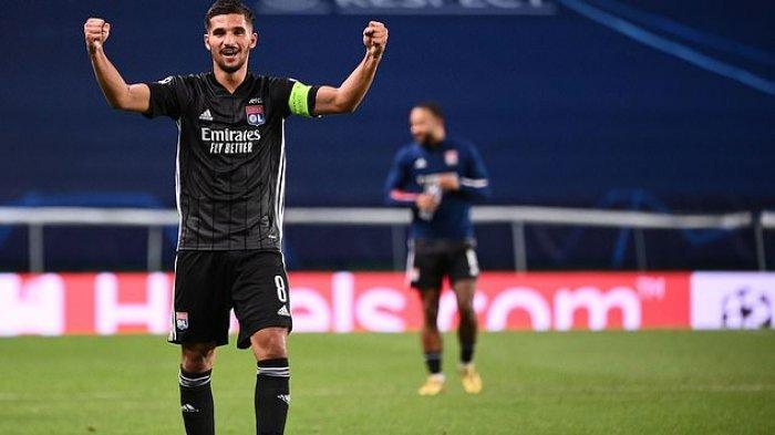 Gelandang Lyon incaran Arsenal, Houssem Aouar