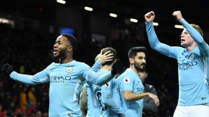 Gelandang Manchester City, Raheem Sterling