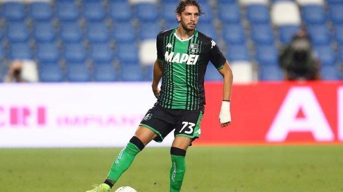Gelandang Sassuolo Manuel Locatelli