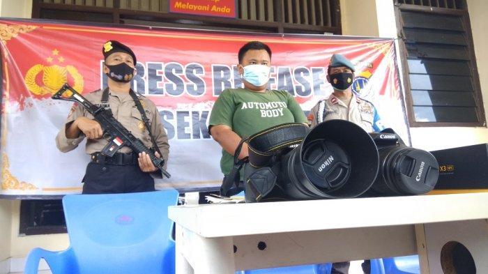 Gelap Mata Karena Tergiur Uang, Karyawan Curi Kabel Tembaga Sisa Instalasi KRL di Kalasan