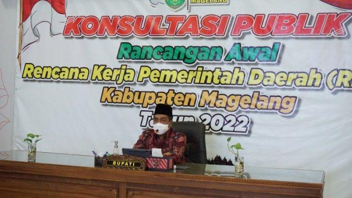 Gelar Konsultasi Publik, Ini Fokus Pembangunan Kabupaten Magelang 2022