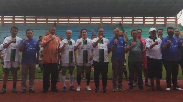 Gelar PertandinganPersahabatandengan Bank Jateng, Pemkot Ingin Sepakbola di Magelang Lebih Maju