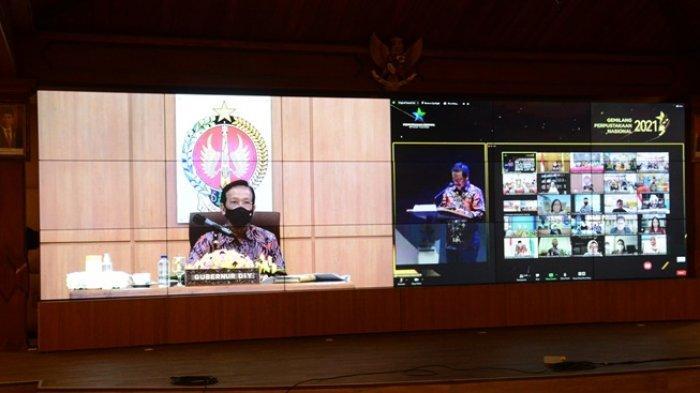 Minat Baca DIY Tertinggi Se-Indonesia, Pemda DIY Raih Penghargaan Nugra Jasadharma Pustaloka