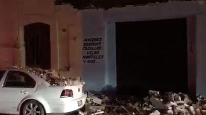Gempa Bumi Meksiko