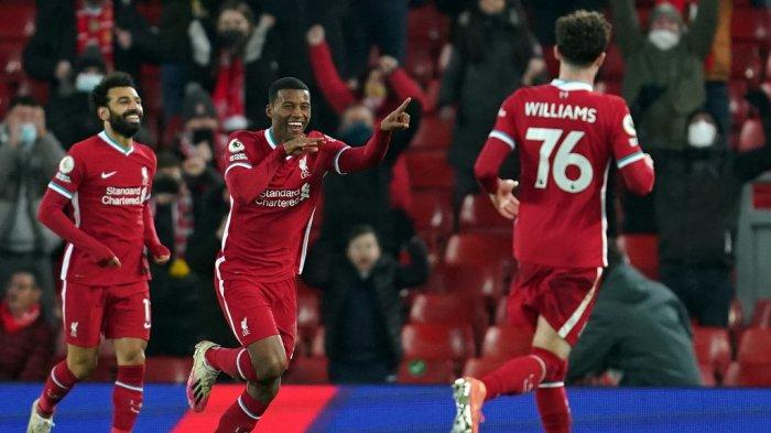 Komentar Georginio Wijnaldum Setelah Tiga Kekalahan Beruntun Liverpool