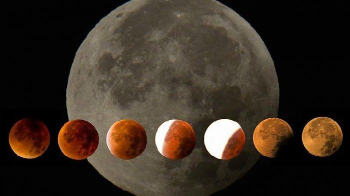 Gerhana Bulan Total 'Blood Moon' - Ini Sejumlah Amalan Mulia yang Dianjurkan saat Terjadi Gerhana
