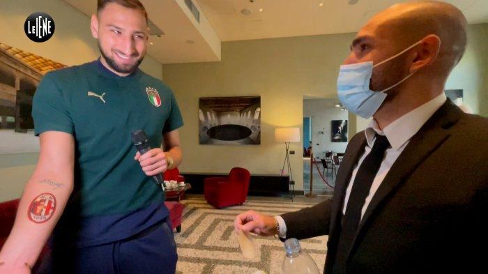 AC MILAN: Jawaban Donnarumma Saat Ditanya Akankah Mempermanenkan Tato Rossoneri