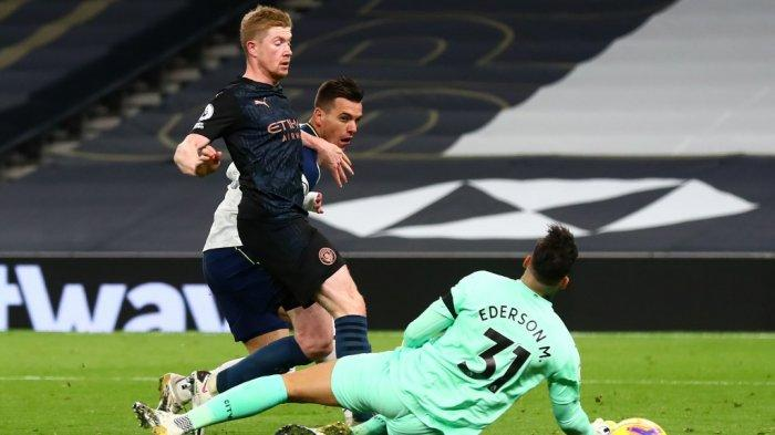 Tottenham 2-0 Man City: Spurs Geser Chelsea di Puncak Liga Inggris & Komentar Mourinho-Guardiola