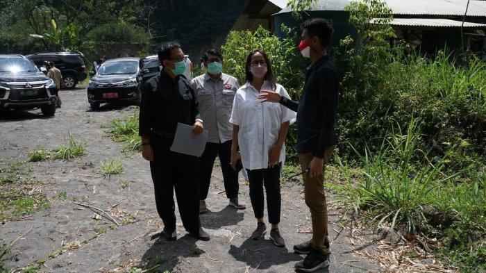 GKR Condrokirono Datangi 7 Lokasi Bekas Tambang Pasir di Lereng Merapi, Segera Direhabilitasi