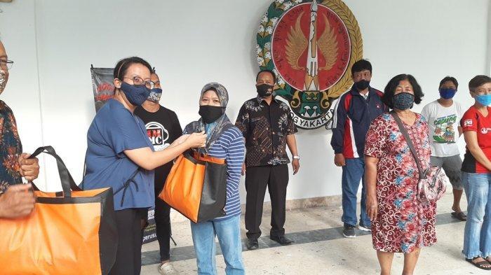 GKR Hayu Berikan Santunan kepada Pedagang di Malioboro yang Terdampak Kerusuhan