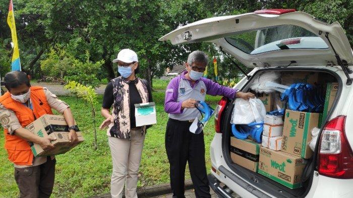 GKR Mangkubumi : Pramuka Bertugas di Posko Sejak Warga Lereng Gunung Merapi Mengungsi