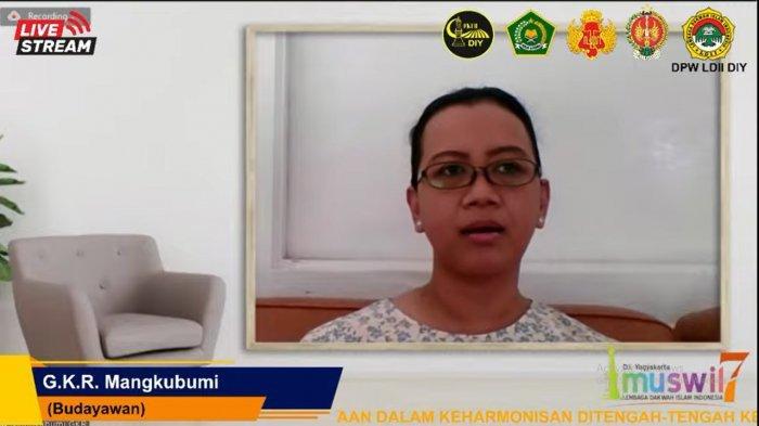 GKR Mangkubumi: Keberagaman Agama dan Budaya DIY Wajib Dijaga, Kalau Bukan Kita Siapa Lagi?