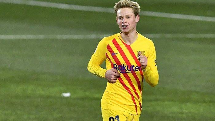 Huesca 0-1 Barcelona, Frenkie de Jong Bawa Barca Naik Peringkat Klasemen Laliga