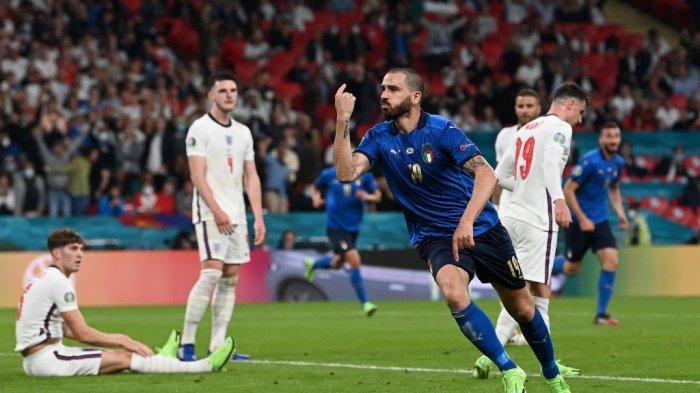 ITALIA 3-2 INGGRIS: Inilah yang Memotivasi Bonucci Dkk Kalahkan Inggris di Final Euro 2020