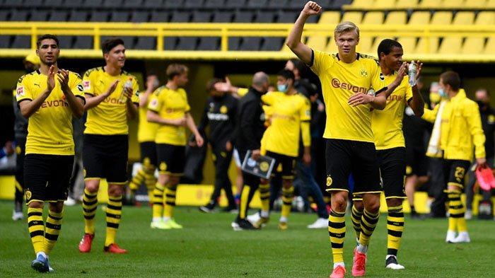 Gol Perdana Erling Haaland untuk Borussia Dortmund di Bundesliga, Gol ke 13 dari 12 Pertandingan