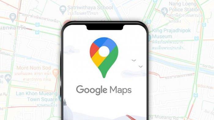 Ilustrasi Google Map
