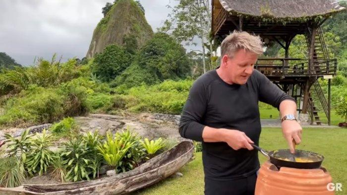 Resep Lengkap Omelet Bumbu Rendang Ikan Teri Ala Gordon Ramsay