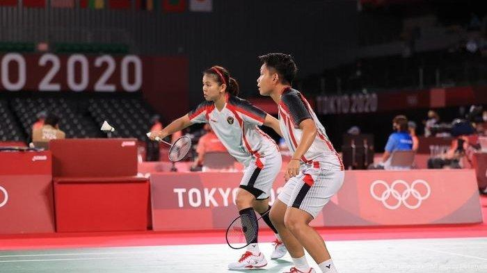 Siaran Langsung Bulu Tangkis Olimpiade Tokyo Hari Ini di Channel TVRI: Greysia/Apriyani vs Lee/Shin