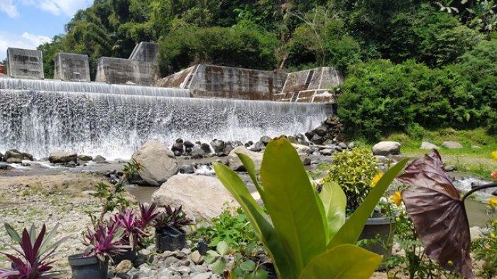Suasana syahdu dan hening di destinasi wisata Grojogan Kapuhan yang ada di Dusun Kapuhan, Desa Kapuhan, Kecamatan Sawangan, Kabupaten Magelang, Minggu (27/9/2020).