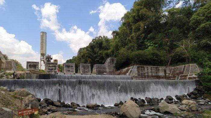 DAM Sungai Grojogan Kapuhan, Destinasi Wisata Air Terjun nan Indah dan Ngehits di Magelang