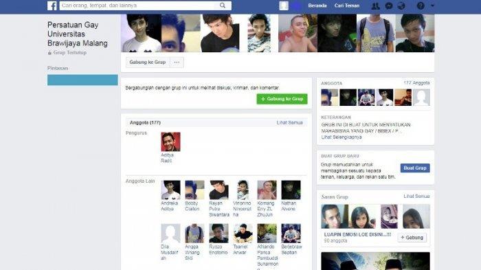 Wow Heboh! Ditemukan Grup Facebook Khusus Gay di Universitas Brawijaya Malang