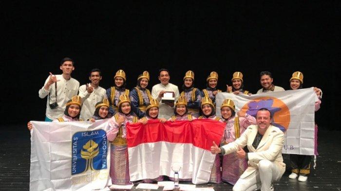 Bawakan Tarian Asal Aceh, Grup Tari UII Jadi Juara Umum International Folk Festival 2019 di Spanyol