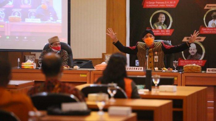 Ganjar Pranowo Ajak Generasi Muda Jawa Tengah Tunjukkan Guyub Rukun Umat Beragama