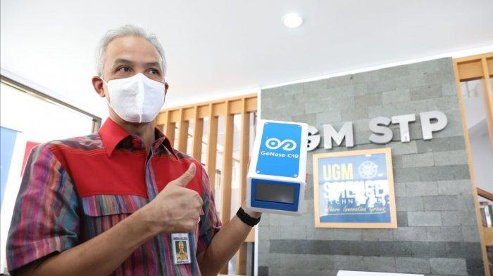 Gubernur Jawa Tengah Ganjar Pranowo Siap Dukung Pengembangan GeNose C19 Buatan UGM