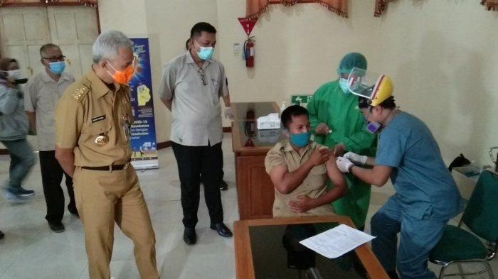 Sebanyak 76 Ribu Warga Klaten Sudah Menerima Vaksin COVID-19