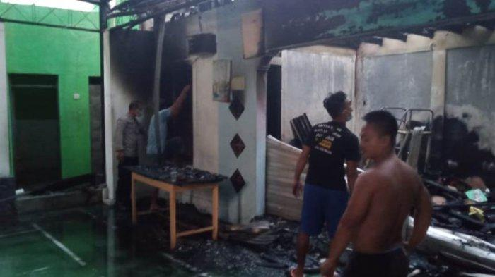 Gudang Penyimpanan Sound Milik RW di Brontokusuman Yogyakarta Terbakar, Kerugian Capai Rp50 Juta
