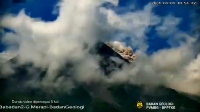 Minggu Siang, Gunung Merapi Kembali Luncurkan Awan Panas Guguran