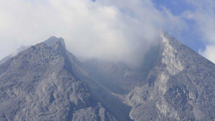 Inilah Laporan Terbaru BPPTKG Yogyakarta, Perubahan Morfologi Kubah Lava Gunung Merapi