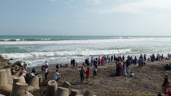 H+3 Lebaran, Pantai Glagah Kulon Progo Dikunjungi 12 Ribu Wisatawan