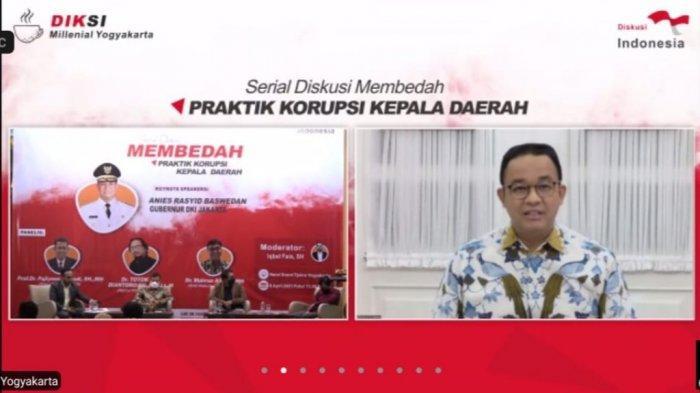 Hadiri DiskusiDiksi Milenial Yogyakarta, Gubernur DKI Anies Baswedan Beberkan Jurus Antikorupsi