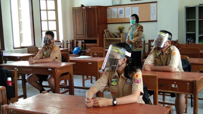 Hanya Satu SMP di Klaten yang Dapat Izin Laksanakan Ujian Sekolah Secara Tatap Muka